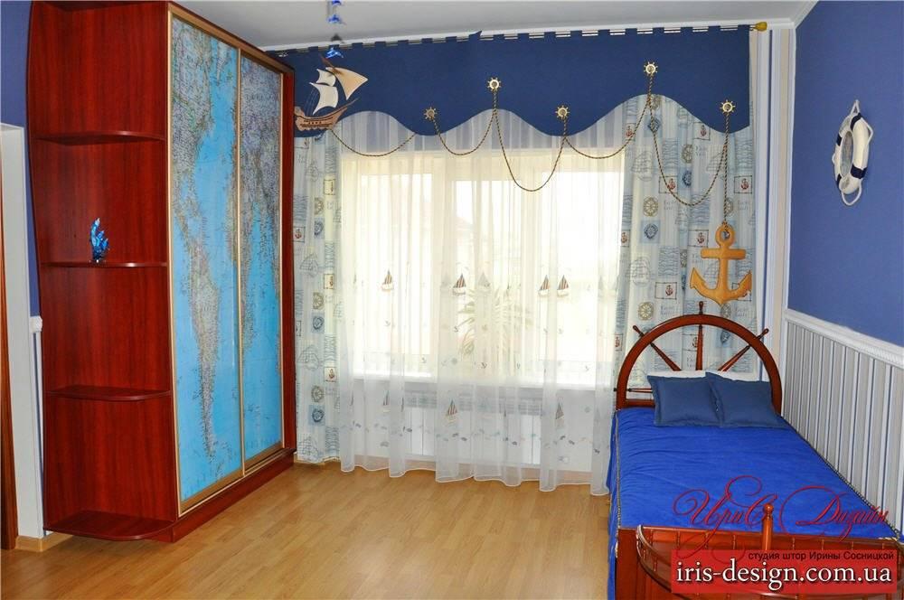 Детская в морском стиле: выбор декора, отделка, мебель