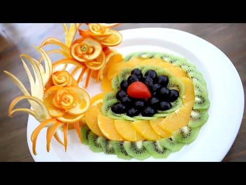 Как резать фрукты?