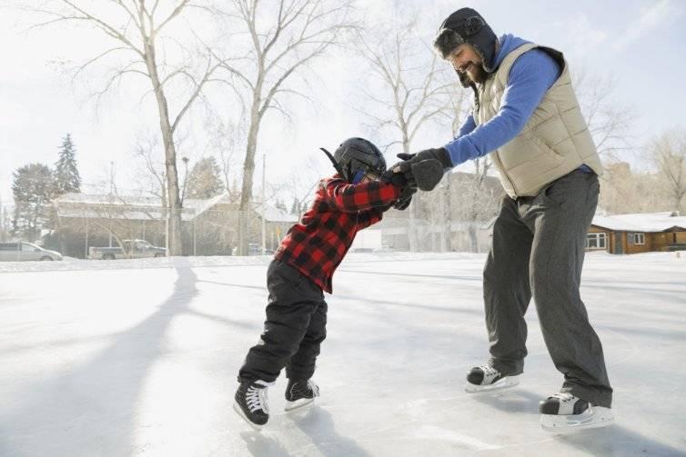 Как научить ребенка кататься на коньках быстро
