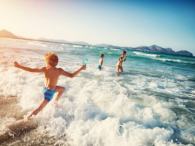 Отдых в крыму с детьми: 10 идей для развлечения вашего малыша