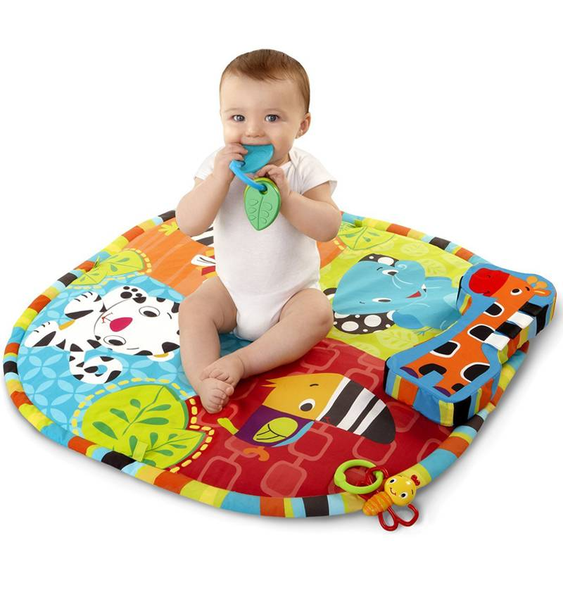 Топ-10 лучших развивающих ковриков
