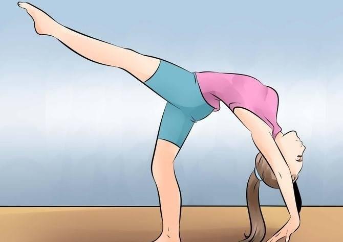 Как научиться вставать на мостик: все виды (из положения стоя, лежа, на локти)