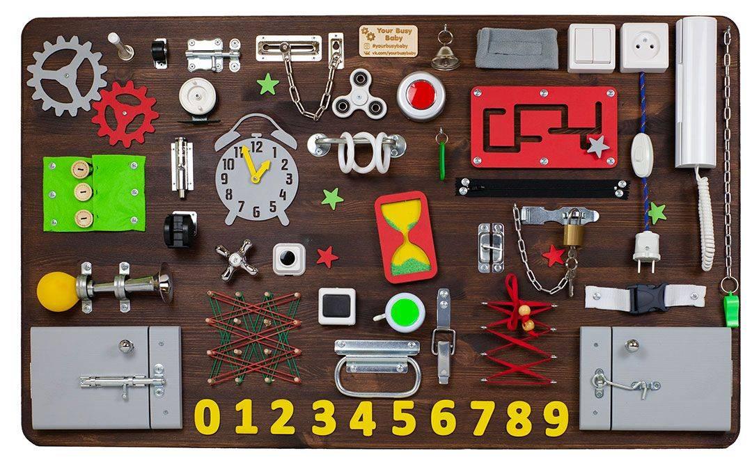 Бизиборд своими руками: пошаговая инструкция с фото и видео