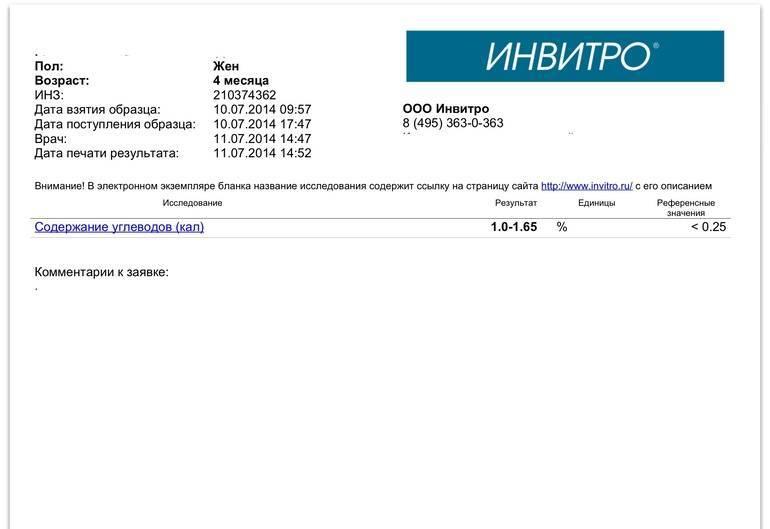 Углеводы в кале: расшифровка анализа — med-anketa.ru