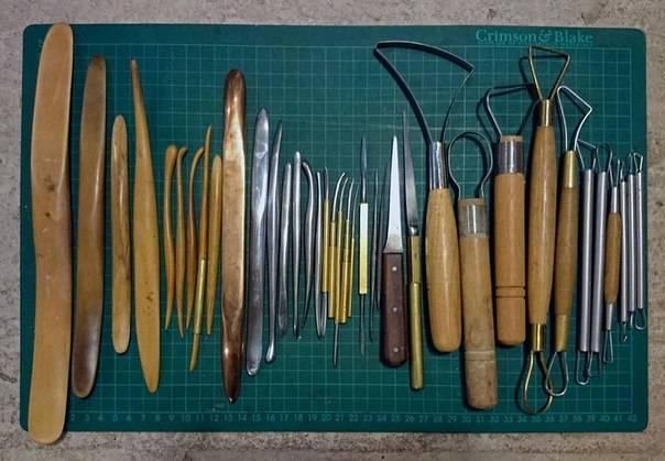 Как называется нож для резки пластилина
