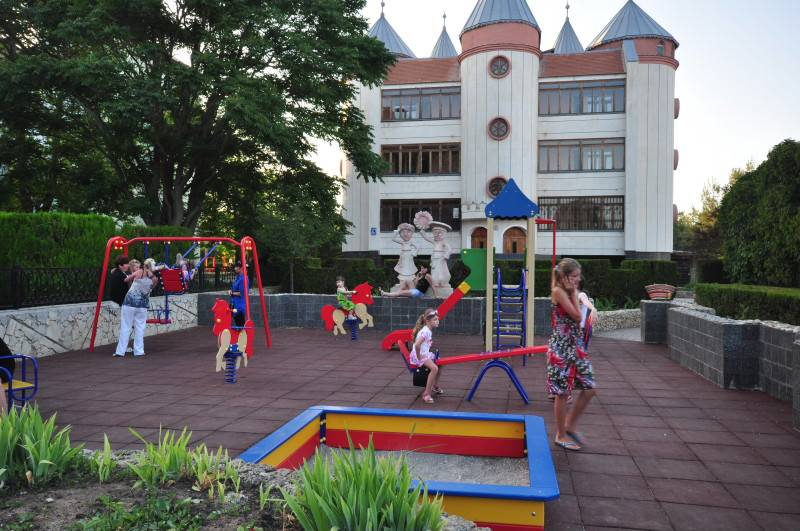 Детские санатории в Евпатории