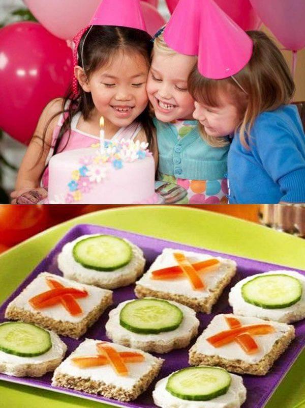 Суперовое меню для детского праздника рецепты с фото