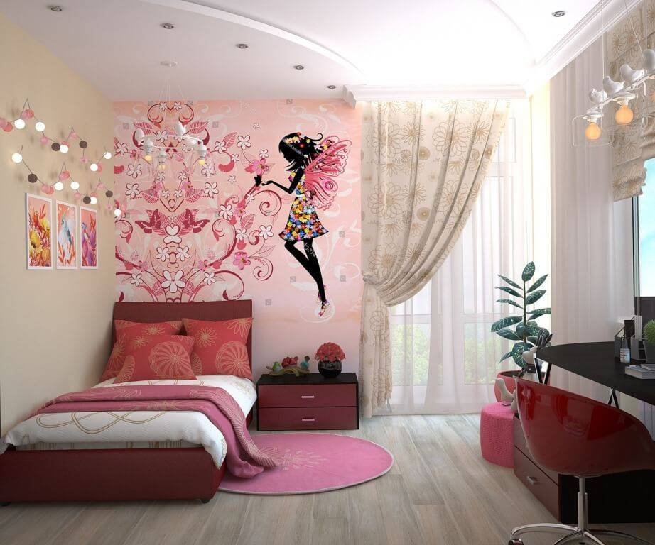 Комната девочки-подростка - 110 фото идей интерьера
