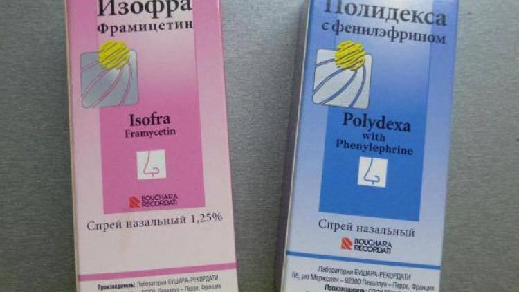 Полидекса или изофра: что выбрать для ребенка, разница и отличия между ними