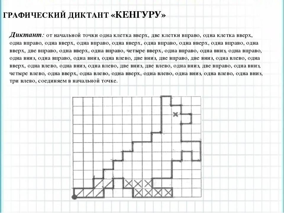 "Графический диктант ""Кенгуру"""
