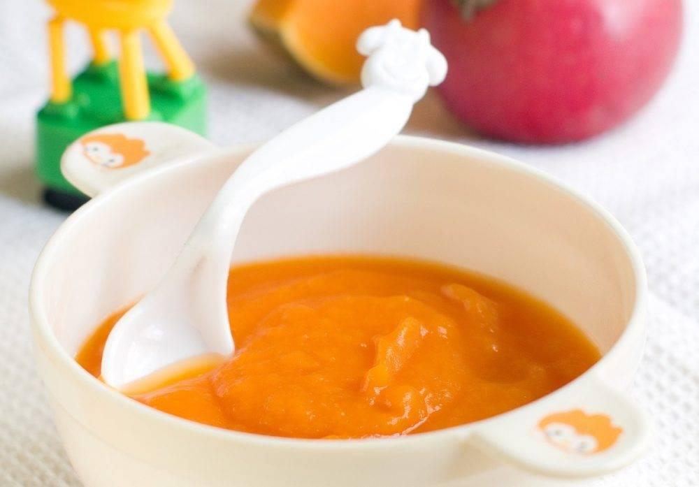 Пюре из тыквы для грудничка: рецепт и полезные свойства | ru-babyhealth