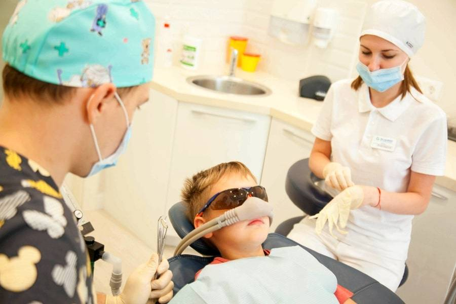 Лечение зубов детям под наркозом в москве - dental fantasy