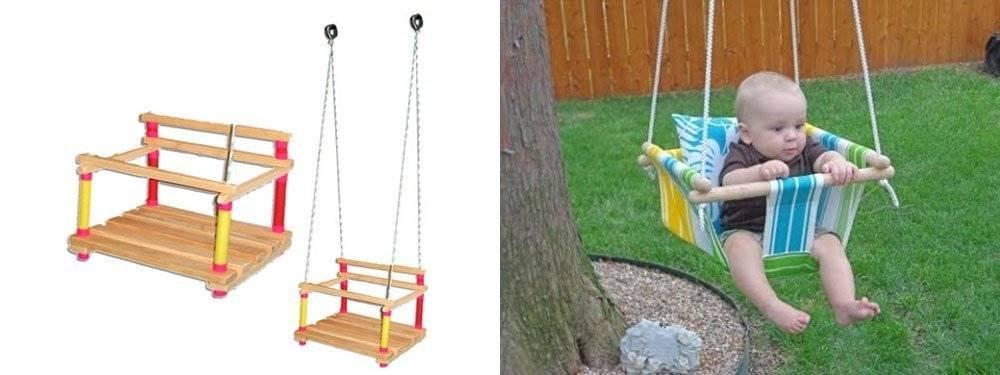 Как выбрать детские качели для дома?
