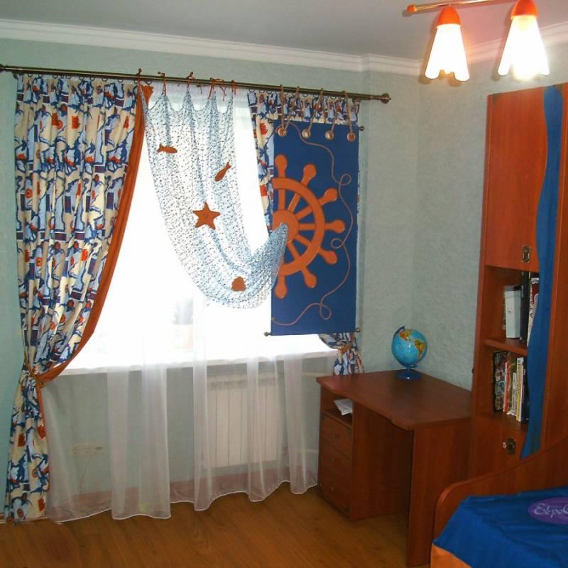 Популярные стили и особенности дизайна штор в детской комнате