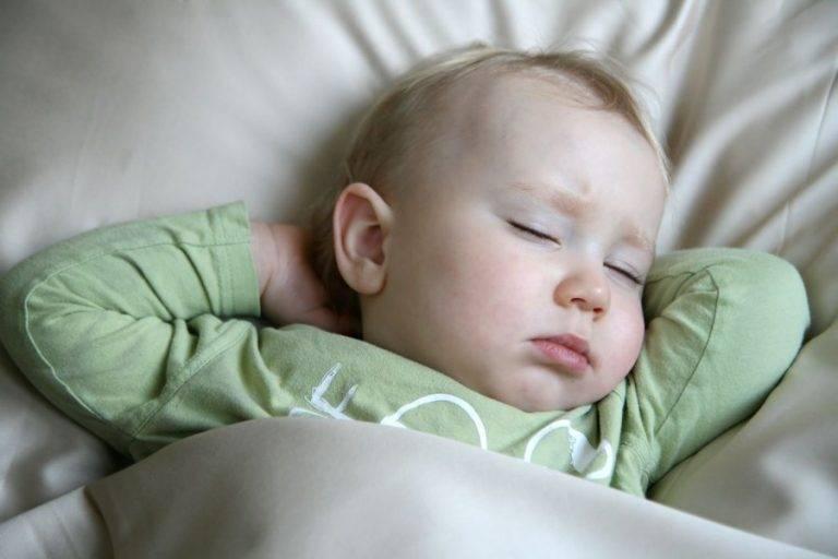 Беспокойный сон у ребенка