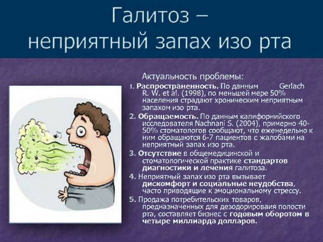 Как плохой запах изо рта связан с гайморитом? | лор боклин а. к.