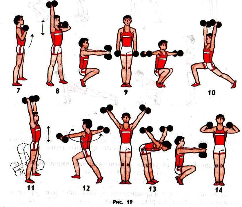 Упражнения с гантелями для детей 10 лет - лечение детей