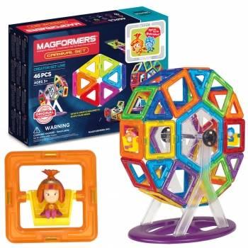 Магнитные конструкторы magformers: детские наборы для девочек и мальчиков, светящиеся и машины, радуга, на 14, 46, 20 и 90 деталей