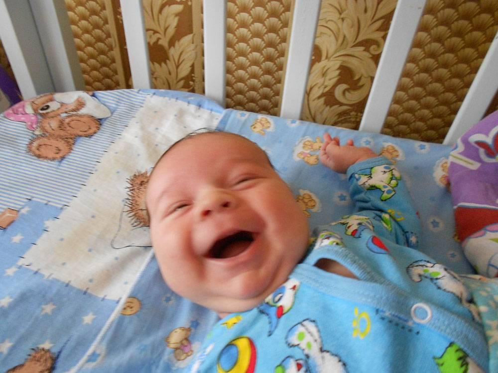 Когда ребёнок улыбается осознанно
