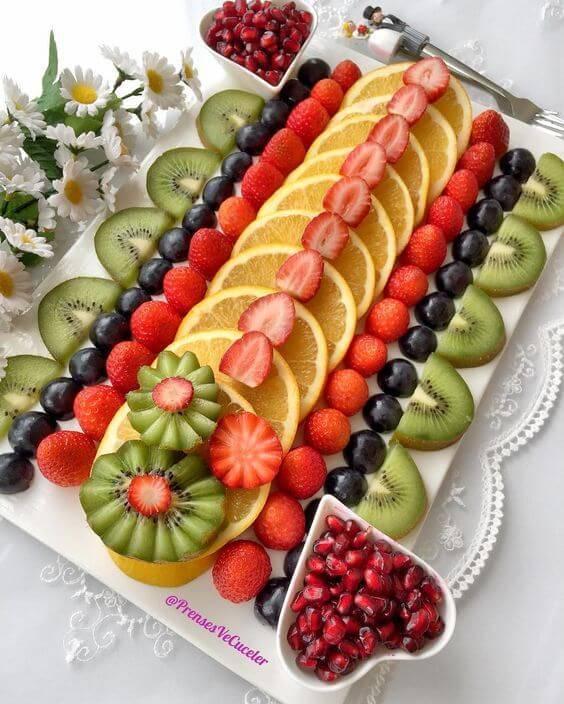 Нарезка овощей и фруктов на праздничный стол: красивая, фигурная, в домашних условиях + топ-3 рецепта с пошаговыми фото