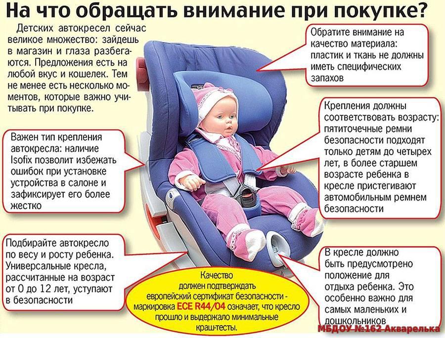Рейтинг детских автокресел