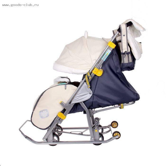 Санки-коляска ника детям: отзывы, описание, характеристика, плюсы и минусы, комплектация