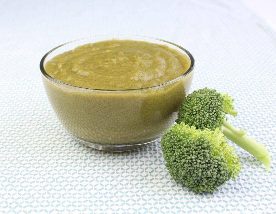 Как приготовить пюре из брокколи для грудничка: рецепт для прикорма
