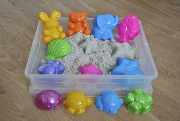 Кинетический песок и песочница для детей - фото и цены. как выбрать волшебный материал. всё о пластилине, живом песке и массах для лепки пластилин рассыпается как песок
