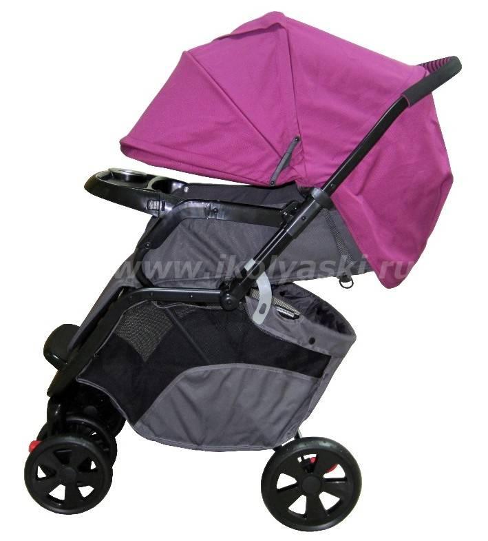 Прогулочная коляска с перекидной ручкой: вариант для заботливой мамы