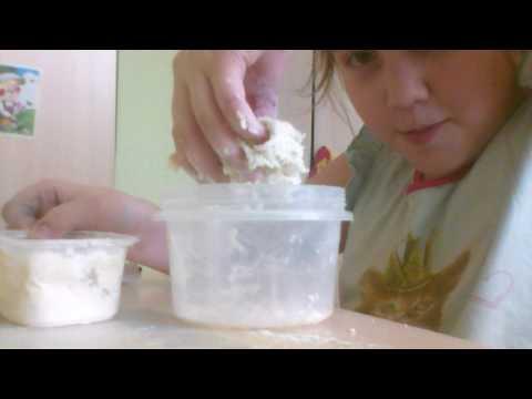 Как можно сделать пластилин своими руками в домашних условиях