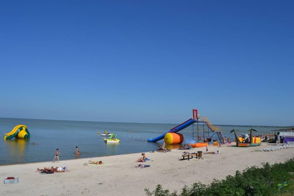 Лучшие курорты азовского моря на украине для отдыха с детьми